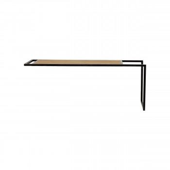 Upside Down - 2 étagères en bois et métal 80x30cm