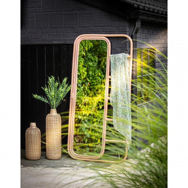 Zarastro - Vase en bambou ø20x50cm