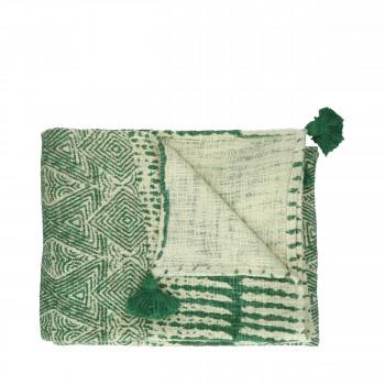 Etnic - Plaid en coton 170x130cm