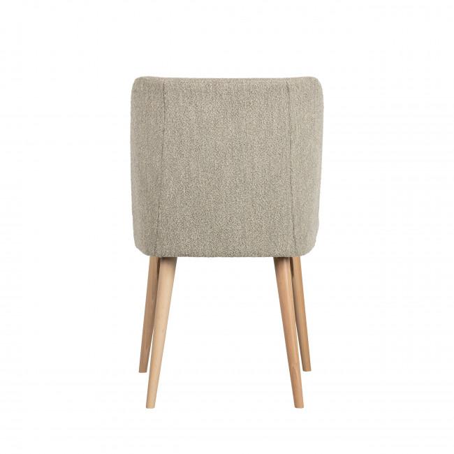 Force - 2 chaises en tissu bouclé