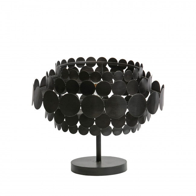 Kaki - Lampe à poser en métal ø47cm