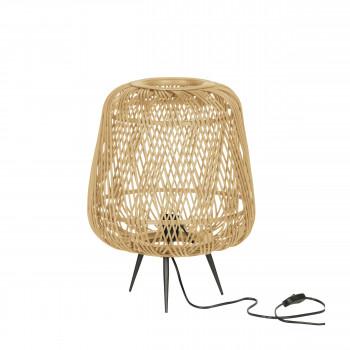 Moza - Lampe à poser en bambou