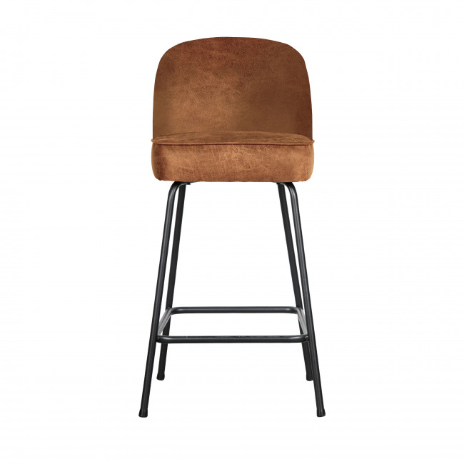 Vogue - Tabouret de bar en similicuir 65cm