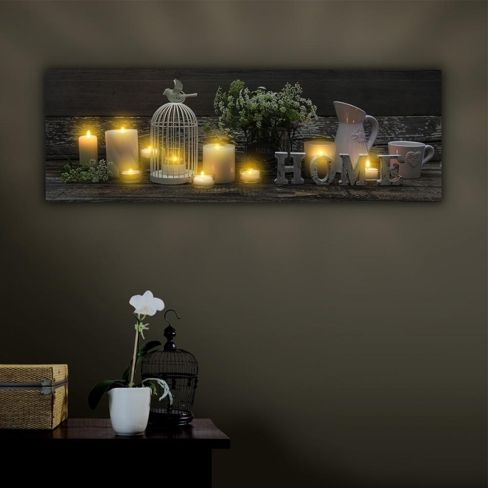 tableau a led tableau led sur enperdresonlapin. Black Bedroom Furniture Sets. Home Design Ideas
