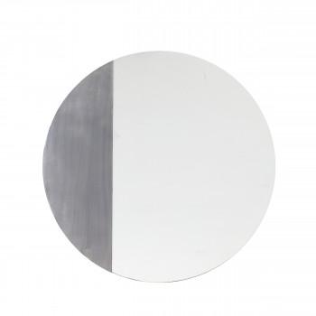 Angelicca - Miroir rond en métal ø60cm
