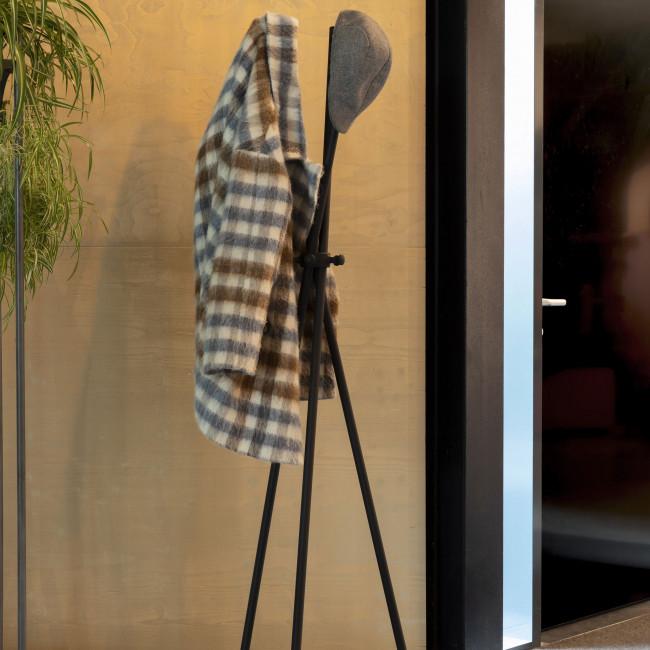 Darwin - Porte-manteaux trépied en métal