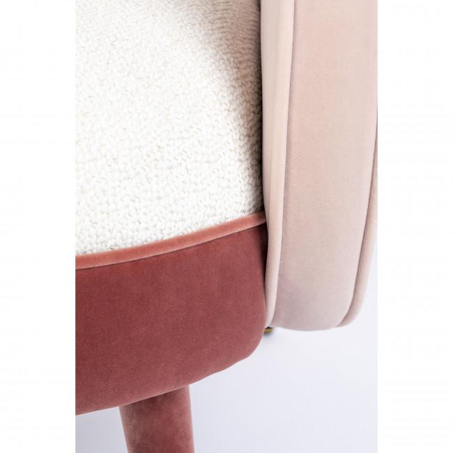 Sam - Fauteuil en velours et tissu