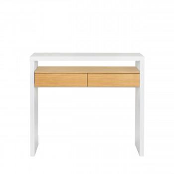 10B - Bureau en bois 100x36cm