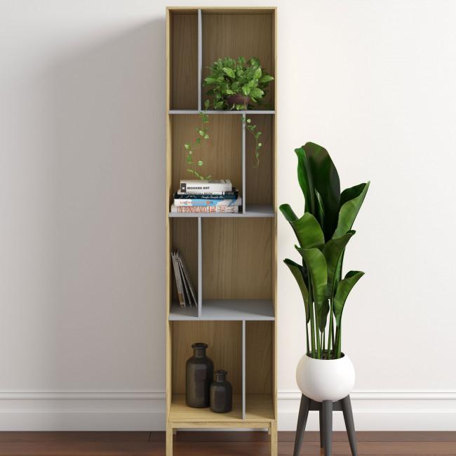 AbbeyWood - Bibliothèque en bois H185 cm