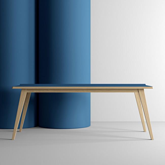 Arrow - Table à manger en bois 197x89cm