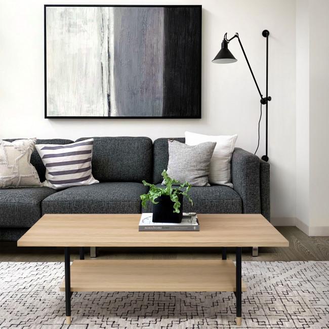 Jugend - Table basse en bois 120x60cm