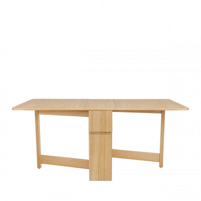 Kungla - Table à manger pliable en bois 170x90cm