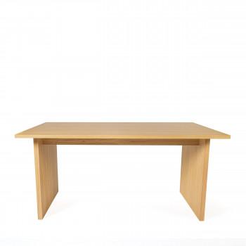 Stripe - Table à manger scandinave en bois 200x90cm