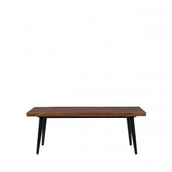 Alagon - Banc en bois et métal 120cm