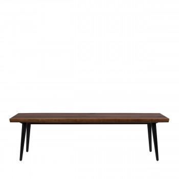 Alagon - Banc en bois et métal 160cm