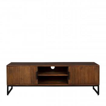 Saroo - Meuble TV en bois et métal