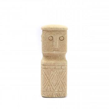 Sumba Stone - Statuette en grès H18cm