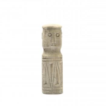 Sumba Stone 04 - Statuette en grès H20cm