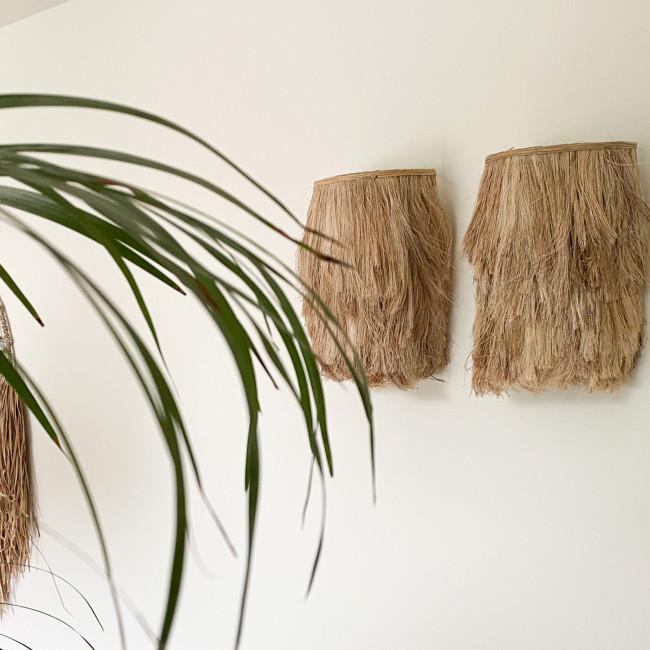 Abaca - Applique en fibre naturelle