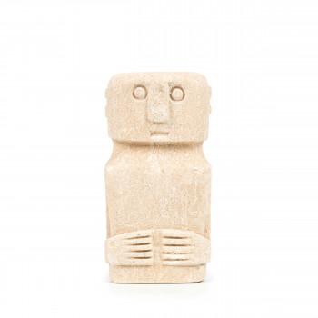 Sumba Stone 15 - Statuette en grès H15cm