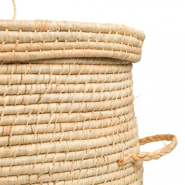 Bozaka - Panier en fibre naturelle ø48cm