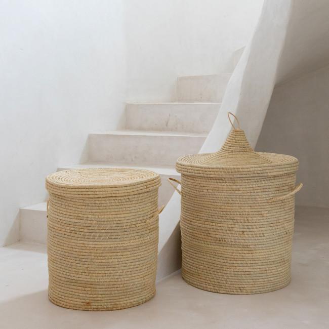 Bozaka - Panier en fibre naturelle ø40cm