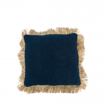 Saint Tropez - Coussin en coton et fibre naturelle 50x50cm