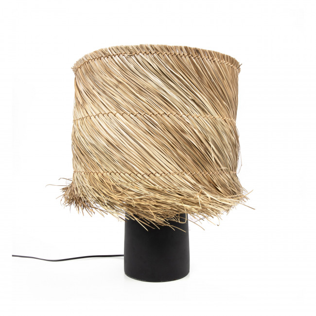 Pandan - Lampe à poser en fibre naturelle