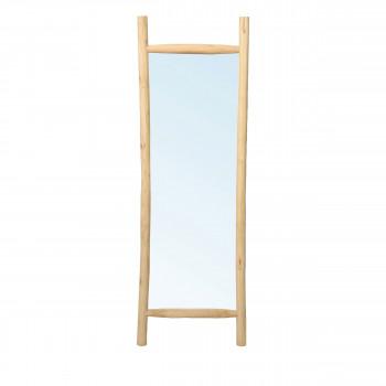 Island - Miroir en teck H170cm