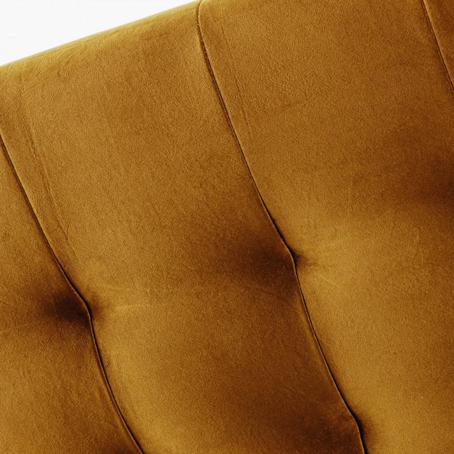 Nabucco - Tête de lit en velours 150 cm