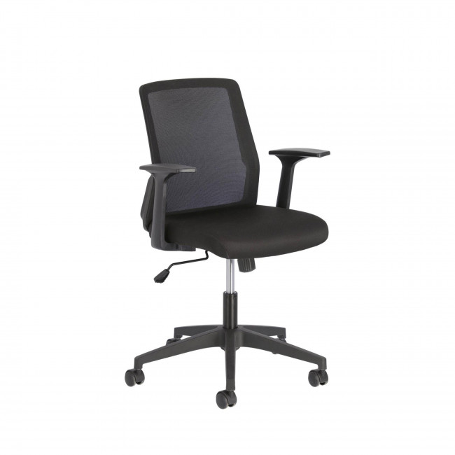 Nasia - Chaise de bureau pivotante à roulettes