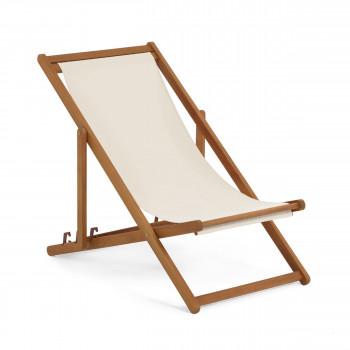 Adredna - Chaise de jardin en bois massif