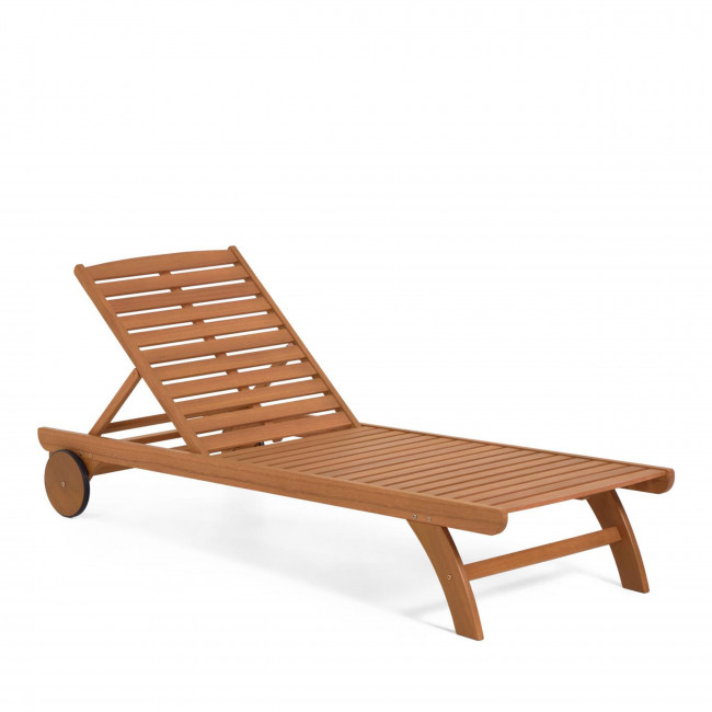 Beila - Chaise longue en bois massif