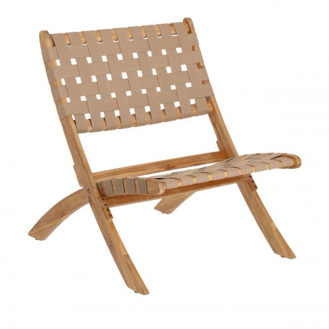 Chabeli - Chaise pliante design en bois