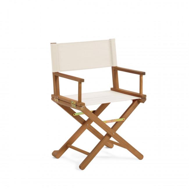 Dalisa - Chaise de jardin pliante en bois