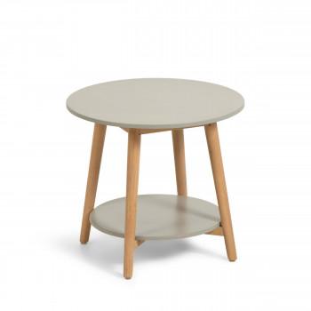 Nina - Table d'appoint ronde et en bois ø50cm
