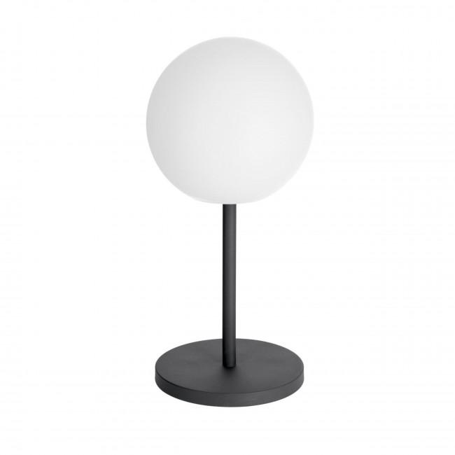 Dinesh - Lampe à poser ronde et sans fils ø30cm