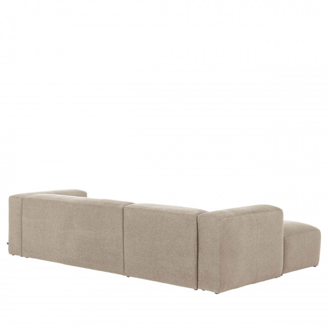 Blok - Canapé d'angle 3 places design avec méridienne gauche