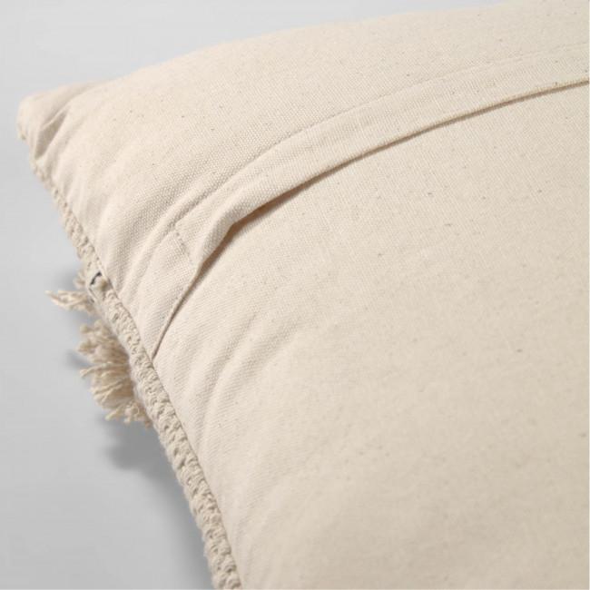 Belisa - Housse de coussin bohème en coton 45x45cm