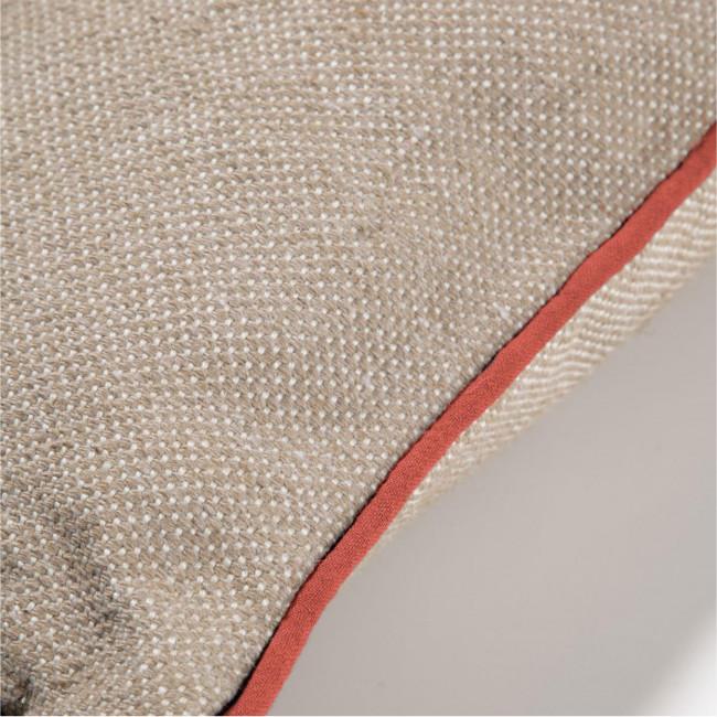 Dalila - Housse de coussin en tissu 100 % PET recyclé 60x60cm