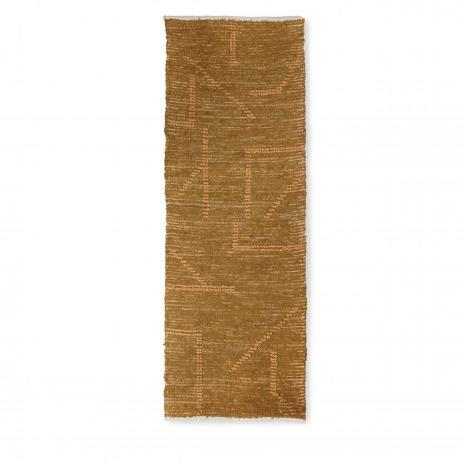 Bran - Tapis en coton tissé à la main 70x200cm
