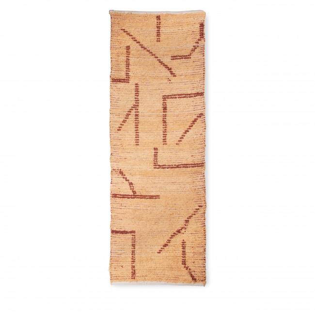 Cuho - Tapis en coton tissé à la main 70x200cm