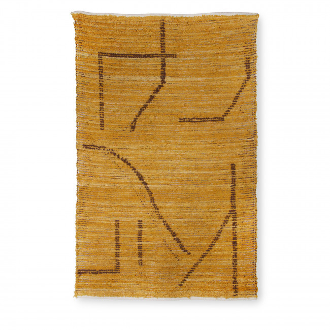 Maohu - Tapis en coton tissé à la main 120x180cm