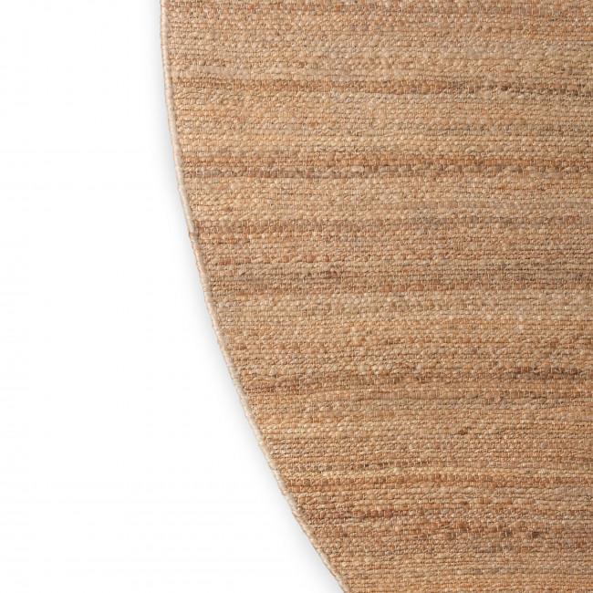 Deb - Tapis rond en chanvre tissé ø250cm