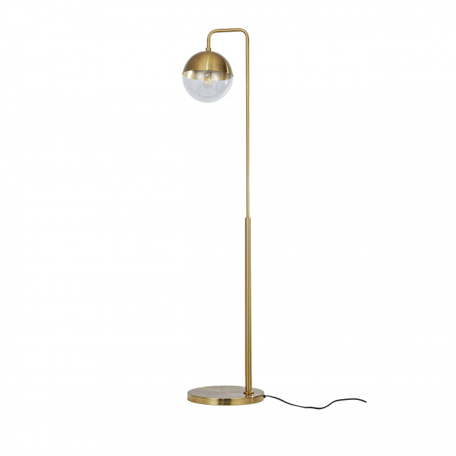 Globular - Lampadaire vintage en métal
