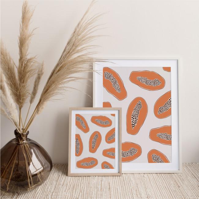 Papaye - Affiche