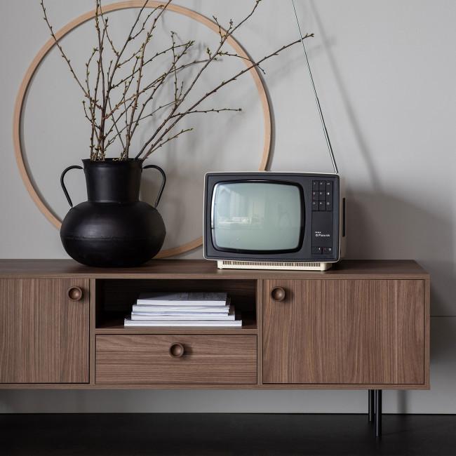 Prato - Meuble TV 2 portes 1 tiroir en bois