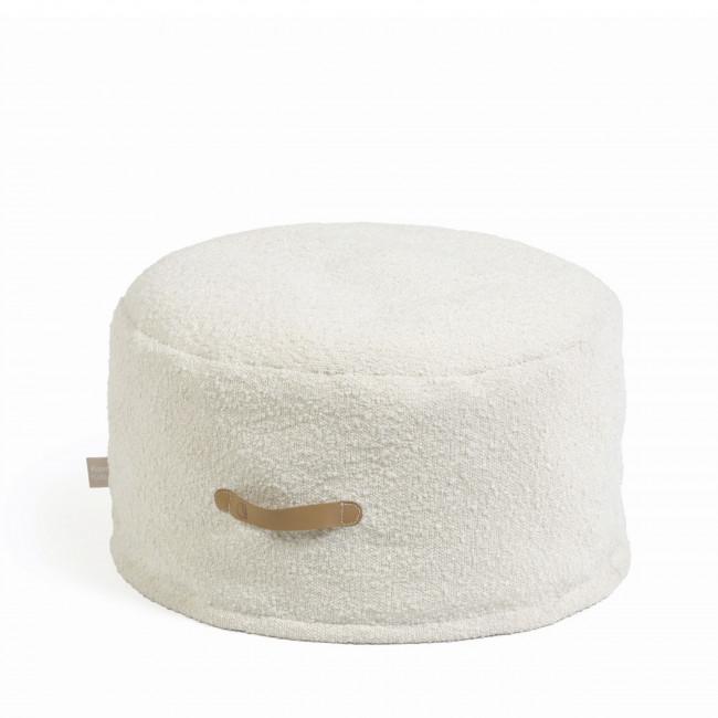 Adara - Pouf rond en tissu ø50cm