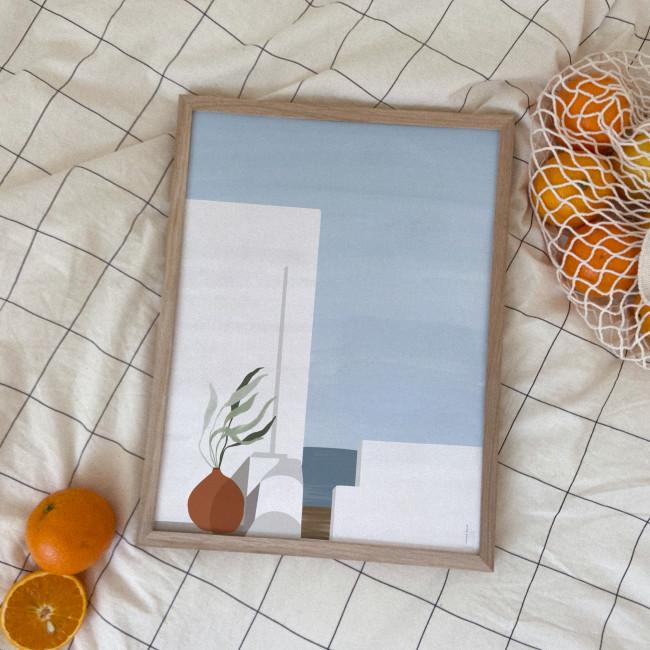 Azur - Affiche en papier