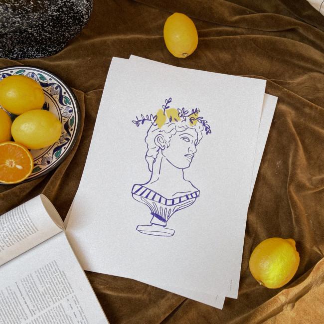 Napolitan dream - Affiche en papier